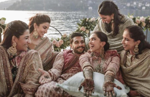 The Wedding Filmer - DeepVeer's Wedding Shot By The Wedding Filmer?