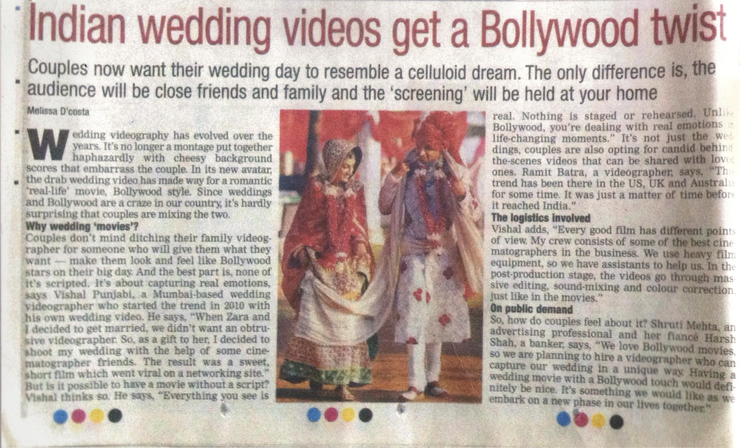 The Wedding Filmer - Indian Wedding Videos Get A Bollywood Twist