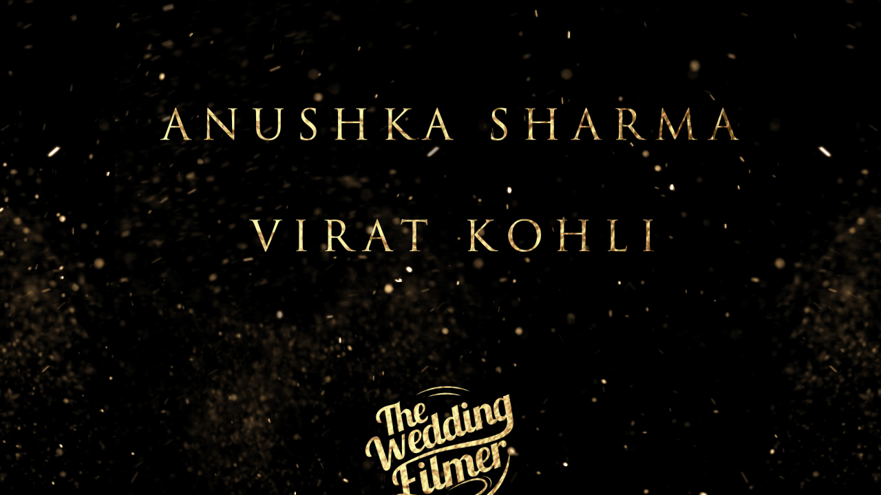 The Wedding Filmer - Anushka & Virat's Wedding Video